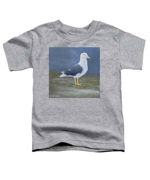 Portrait Of A Seagull Toddler T-Shirt