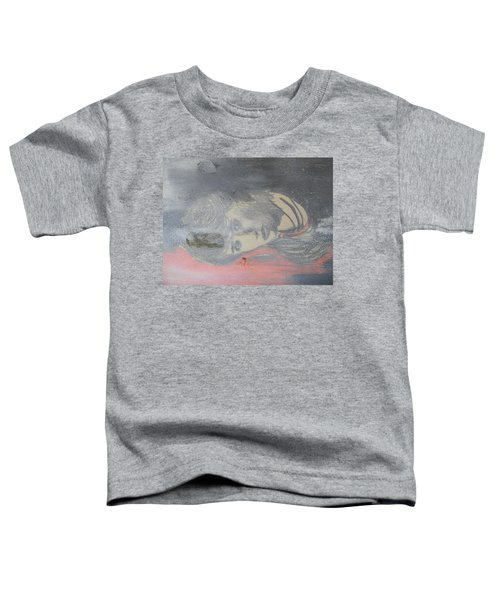 Portrait Of A Theatre Actress Toddler T-Shirt