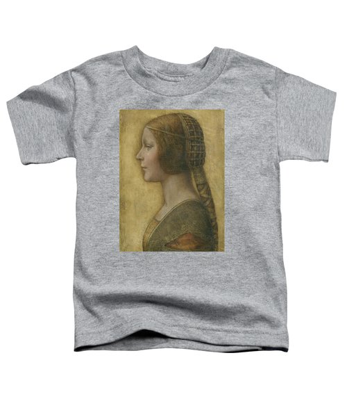 Portrait Of A Young Fiancee Toddler T-Shirt