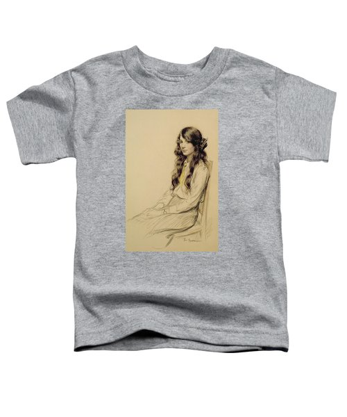 Portrait Of A Young Girl Toddler T-Shirt