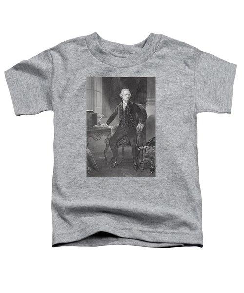 Portrait Of Alexander Hamilton Toddler T-Shirt