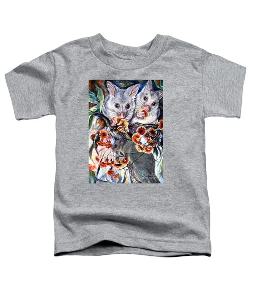 Possum Family Toddler T-Shirt