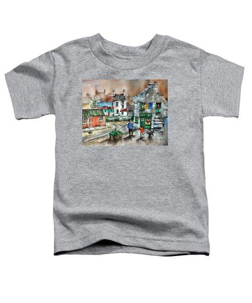 Post Office Mural In Ennistymon Clare Toddler T-Shirt