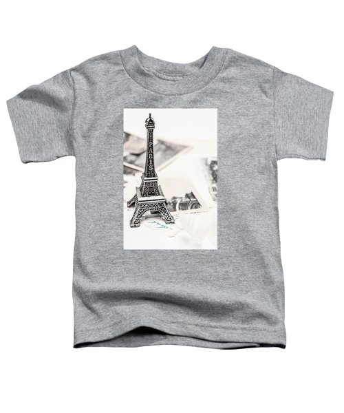 Postcards And Letters From Paris Toddler T-Shirt