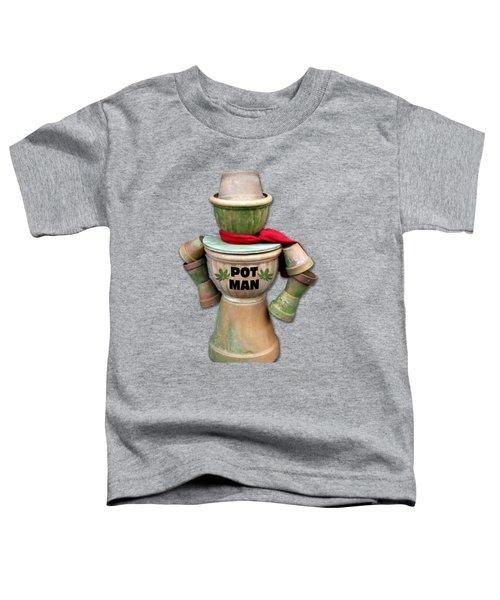 Pot Man T-shirt Toddler T-Shirt