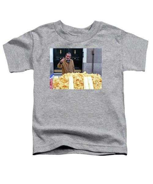 Potato Chip Man Toddler T-Shirt