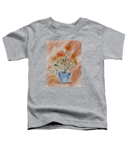 Potted Plant - A Watercolor Toddler T-Shirt
