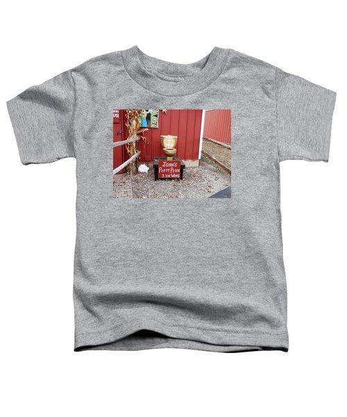Potty Art Toddler T-Shirt