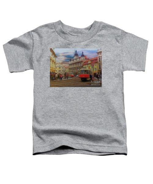 Prague, Old Town, Street Scene Toddler T-Shirt