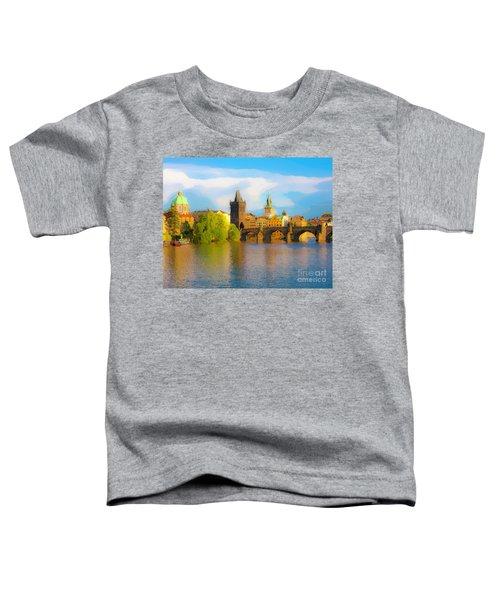 Praha - Prague - Illusions Toddler T-Shirt