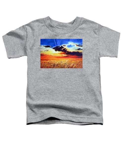 Prairie Gold Toddler T-Shirt