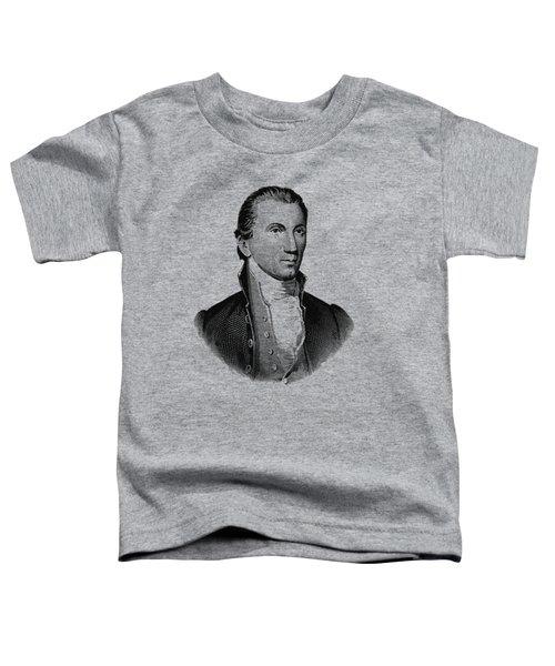 President James Monroe Graphic Toddler T-Shirt