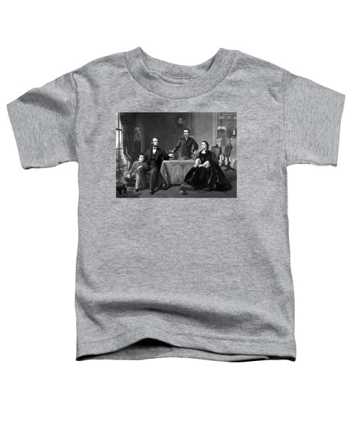 President Lincoln And His Family  Toddler T-Shirt