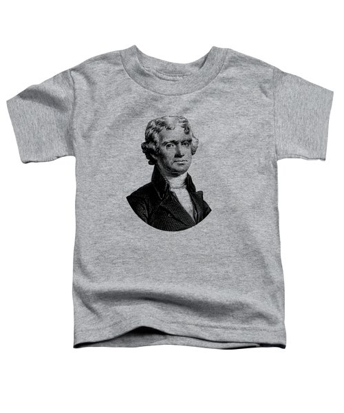 President Thomas Jefferson Graphic Toddler T-Shirt