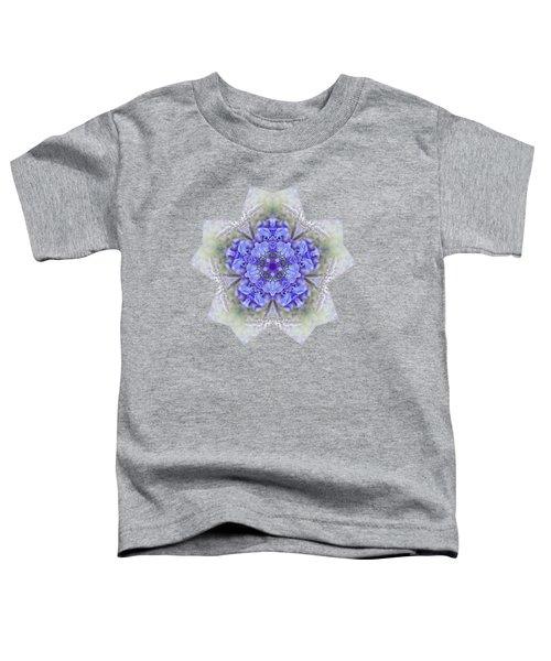Pretty Wisteria Kaleidoscope By Kaye Menner Toddler T-Shirt by Kaye Menner