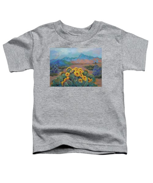 Prickly Pear In The Desert Toddler T-Shirt