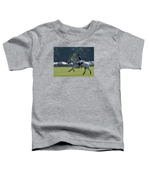 Prince Charles Playing Polo At Windsor Toddler T-Shirt