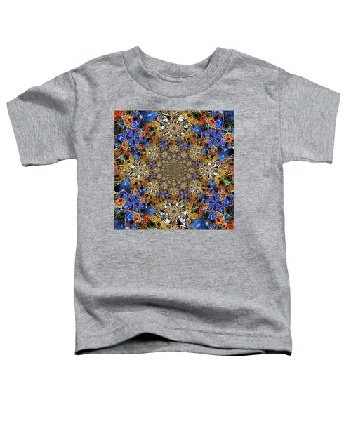 Prismatic Glasswork Toddler T-Shirt by Nick Heap