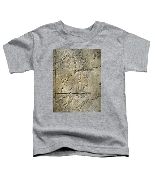 Private Tombs -painting West Wall Tomb Of Ramose T55 - Stock Image - Fine Art Print - Thebes Toddler T-Shirt