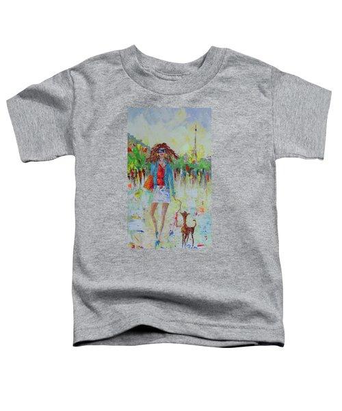 Promade Avec Mon Chien Toddler T-Shirt
