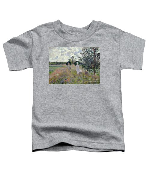 Promenade Near Argenteuil Toddler T-Shirt