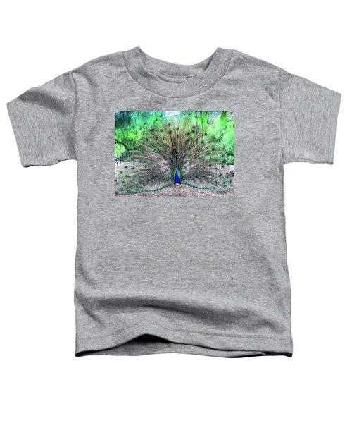 Toddler T-Shirt featuring the photograph Proud by Alison Frank