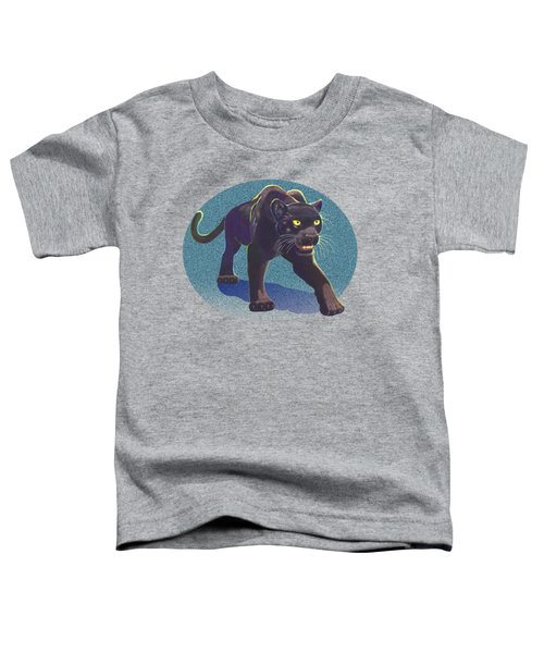 Prowl Toddler T-Shirt by J L Meadows