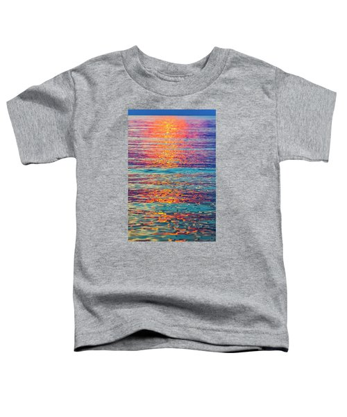 Psychedelic Sunset Toddler T-Shirt