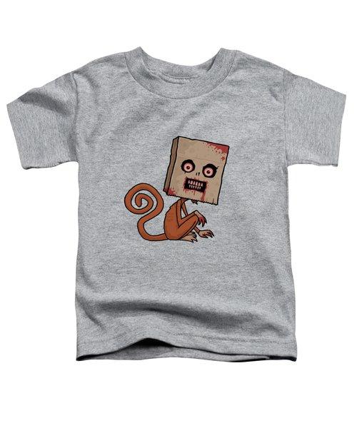 Psycho Sack Monkey Toddler T-Shirt