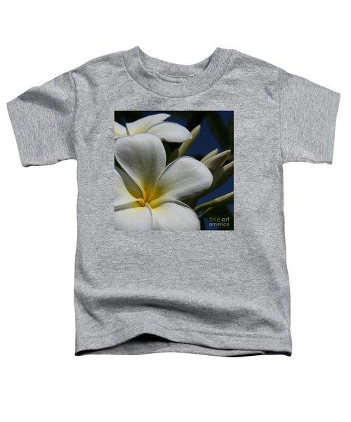 Pua Lena Pua Lei Aloha Tropical Plumeria Maui Hawaii Toddler T-Shirt