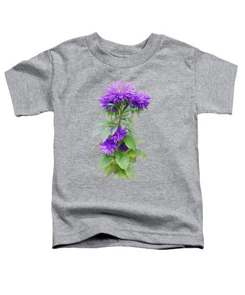 Purple Aster Toddler T-Shirt