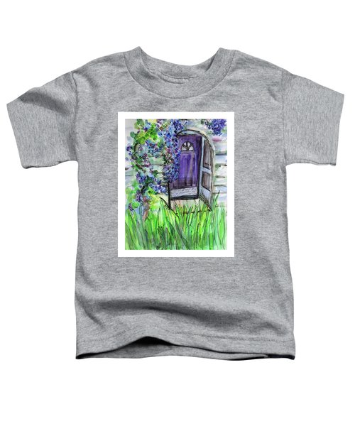 Purple Doorway Toddler T-Shirt