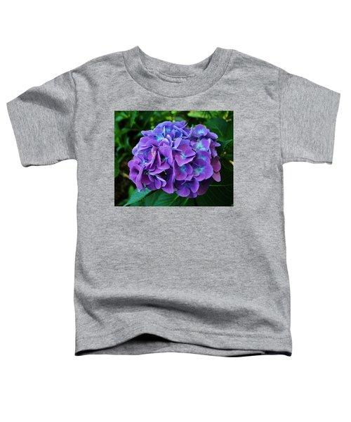 Purple Hydrangea Toddler T-Shirt