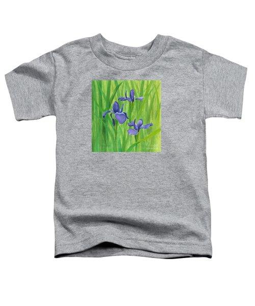 Purple Iris Toddler T-Shirt