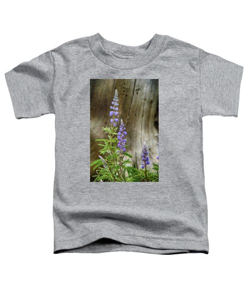 Purple Lupine Toddler T-Shirt