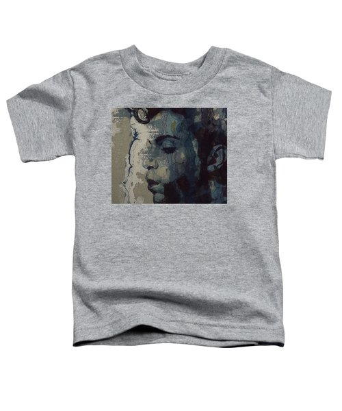 Purple Rain - Prince Toddler T-Shirt by Paul Lovering