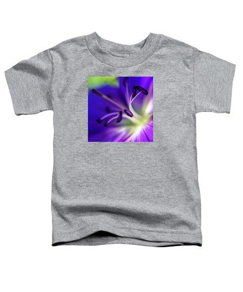 Purple Starburst Toddler T-Shirt