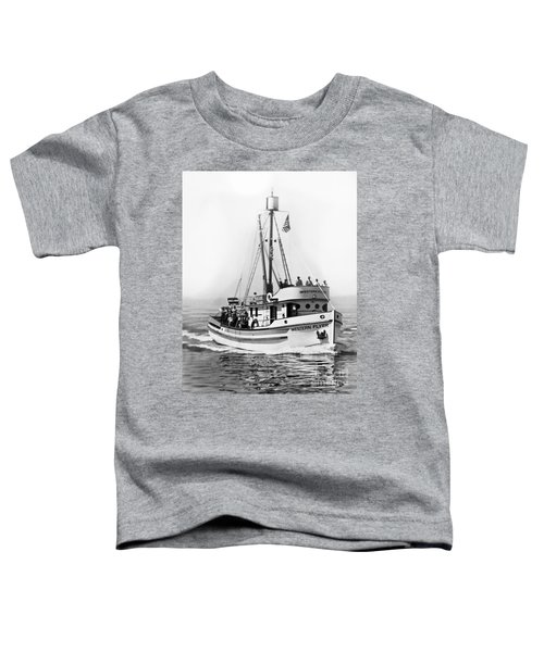 Purse Seiner Western Flyer On Her Sea Trials Washington 1937 Toddler T-Shirt