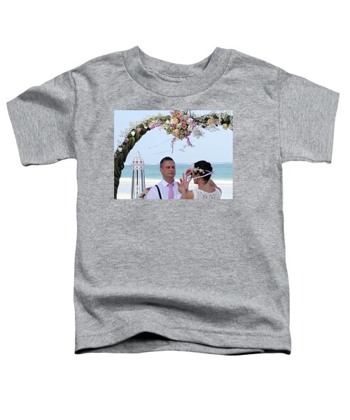 Putting On The Ring Toddler T-Shirt