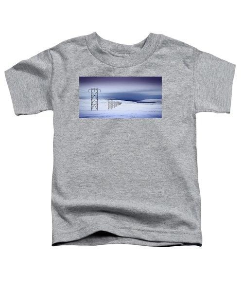 Pylons, Iceland Toddler T-Shirt