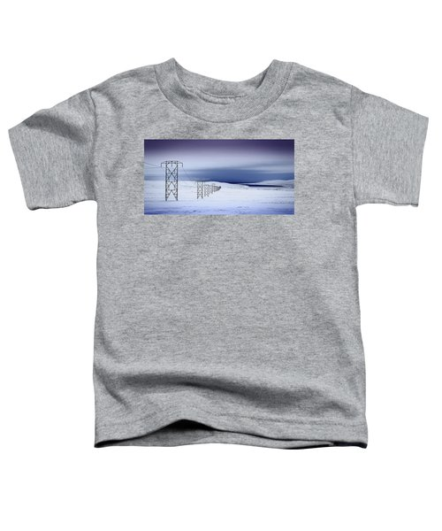Pylons, Iceland Toddler T-Shirt