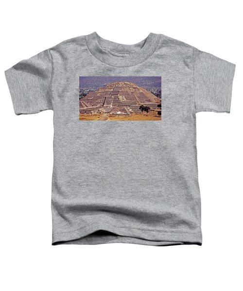 Pyramid Of The Sun - Teotihuacan Toddler T-Shirt