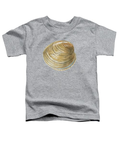 Quahog Shell Toddler T-Shirt