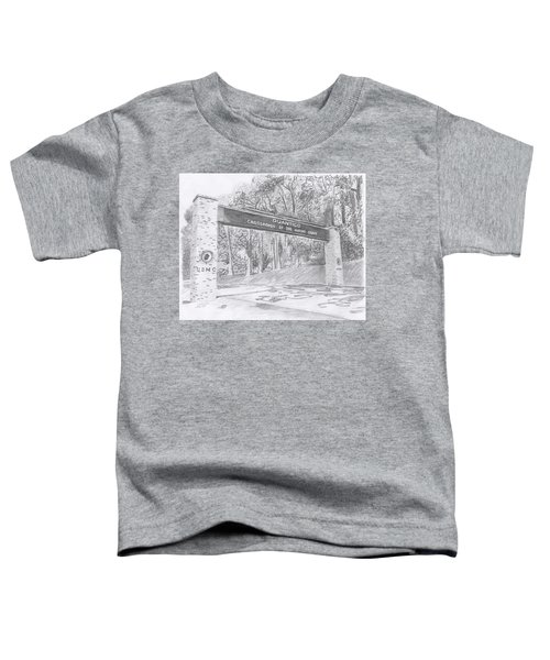 Quantico Welcome Graphite Toddler T-Shirt