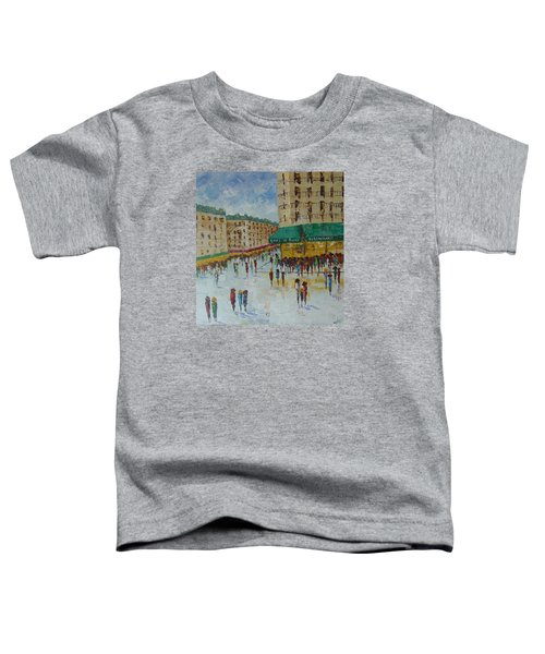 Quartier Latin Paris Toddler T-Shirt