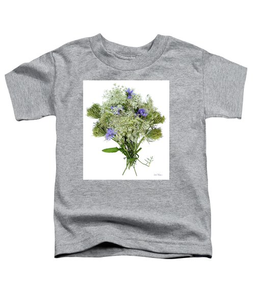 Queen Anne's Lace With Purple Flowers Toddler T-Shirt