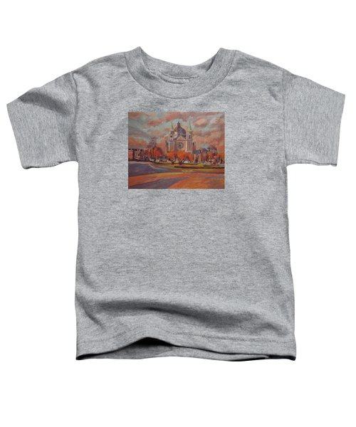 Queen Emma Square In Autumn Colours Toddler T-Shirt by Nop Briex