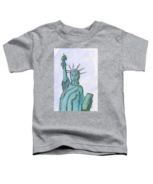 Queen Of Liberty Toddler T-Shirt