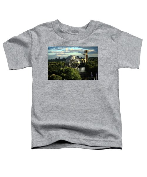 Queens New York City - Unisphere Toddler T-Shirt