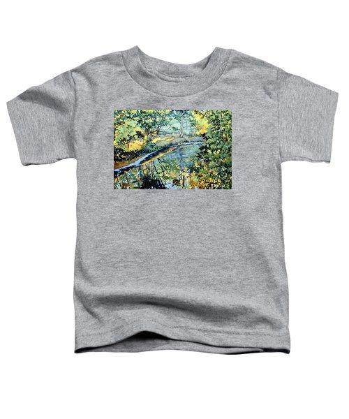 Quiet Stream Near Milk House Toddler T-Shirt